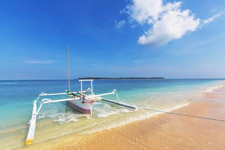 Fishing boats in Bali photo