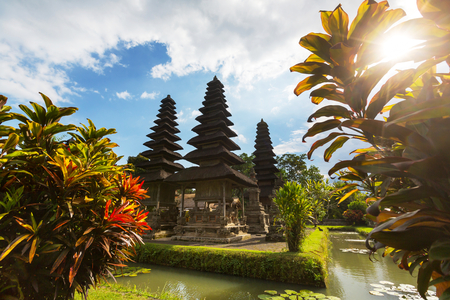 Country temple in Bali photo