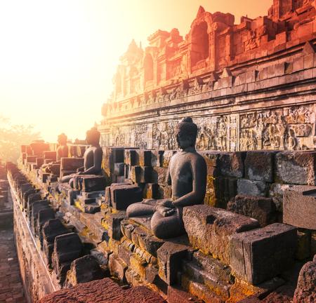 budda: Borobudur Temple,Java, Indonesia