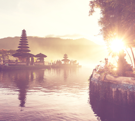 Pura Ulun Danu temple, Bali, Indonesia Stock Photo - 29442514