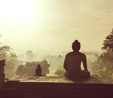 borobudur: Borobudur Temple,Java, Indonesia
