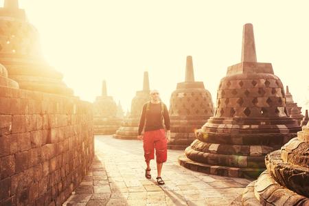 Borobudur Temple,Java, Indonesia  photo