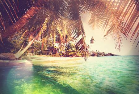 Serenity Strand Standard-Bild