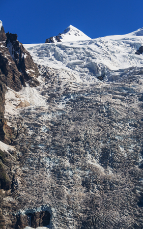 frigid: Adishi Glacier in Georgia