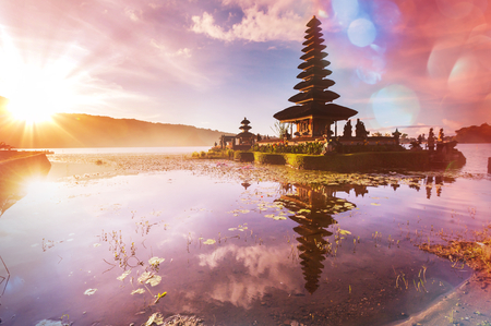 Pura Ulun Danu temple, Bali, Indonesia photo