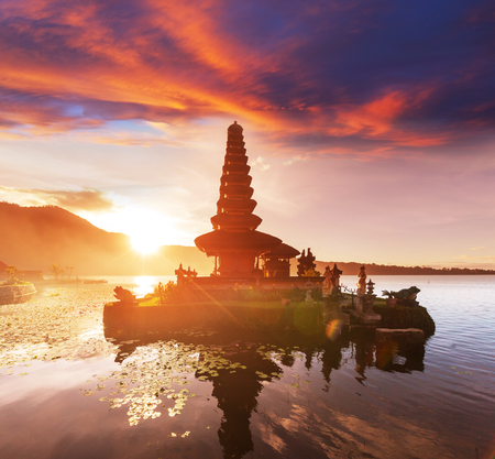 Pura Ulun Danu temple, Bali, Indonesia photo