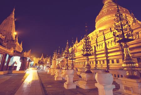 buddhist temple roof: Buddhist temple roof ,Myanmar