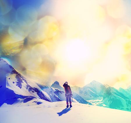 등산가 스톡 콘텐츠 - 32851282