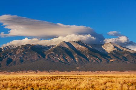 rocky mountain national park: Rocky mountains in Colorado