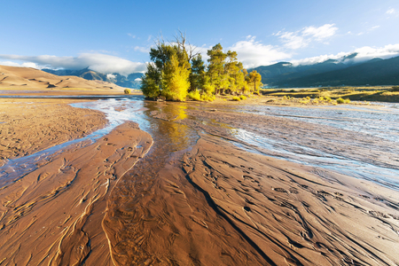 great: Great Sand Dunes National Park, Colorado,USA Stock Photo