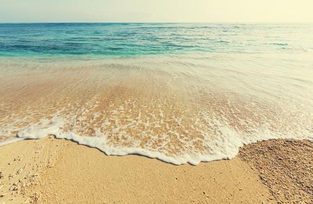 tranquil: Serenity beach Stock Photo