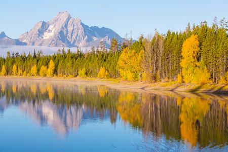 Autumn in Grand Teton Park, Wyoming photo