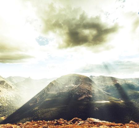 rocky mountains: Rocky Mountains in Colorado Stockfoto
