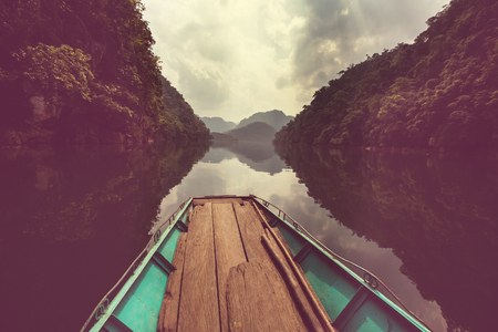 Serenity BaBe Lake in Vietnam photo