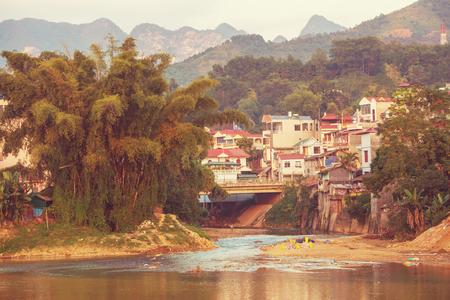 subsistence: Village in Vietnam