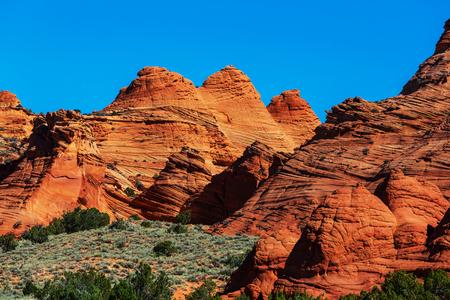 hoodoo: Hoodoo formations in Utah, USA.