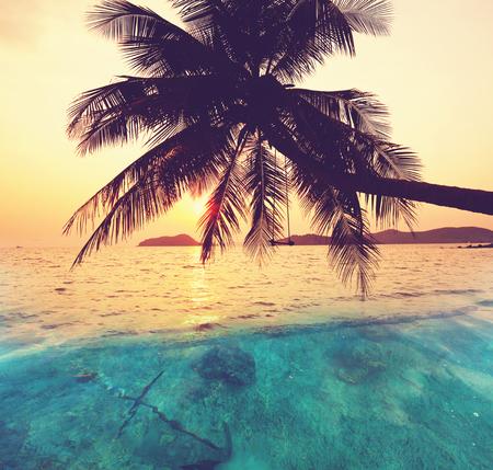 Serenity beach Stock Photo
