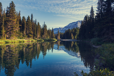 glacier national park: Glacier National Park, Montana.