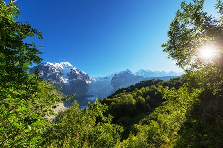 svaneti: Altas monta�as de Svaneti, Georgia