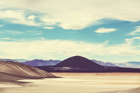 serene landscape: Landscapes in Northern Argentina Stock Photo