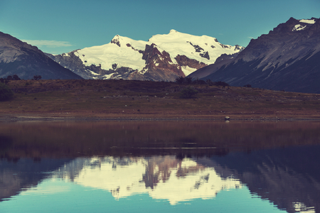 alpenglow: Patagonia landscapes in Argentina