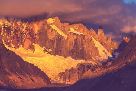 Cerro Torre in Argentina photo