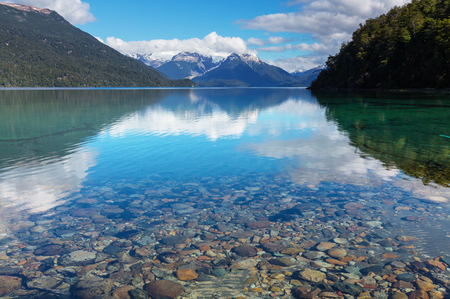 Patagonia landscapes in Argentina photo
