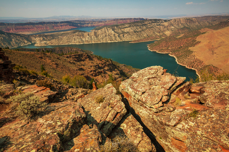recreation area: Flaming Gorge recreation area