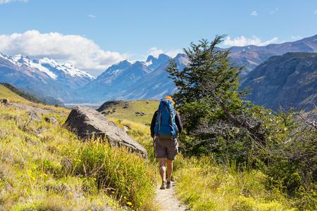 Wandeling in Patagonië