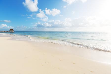 Serenity beach Standard-Bild