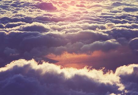 Clouds Standard-Bild