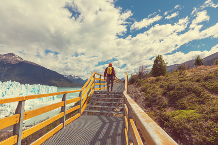 Hike in Patagonia photo