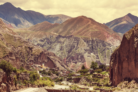small country town: Famous village Iruya in Salta, Argentina