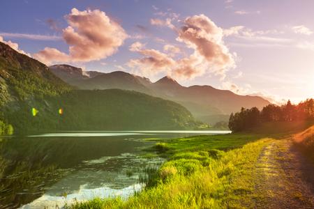 serene landscape: Norway landscapes