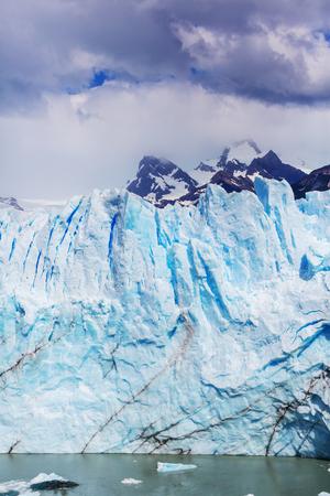 moreno glacier: Perito Moreno glacier in  Argentina