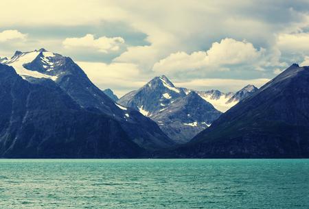 táj: Észak-Norvégia tájak Stock fotó