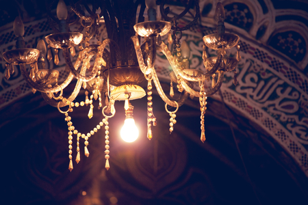 chinesse: Lamps in the night Stock Photo