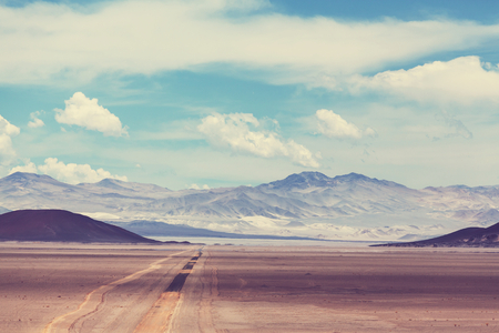Landscapes of Northern Argentina Stock Photo