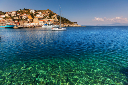 greece: Hydra Island, Greece Stock Photo
