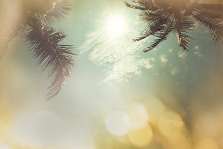 Sereniteit tropisch strand Stockfoto