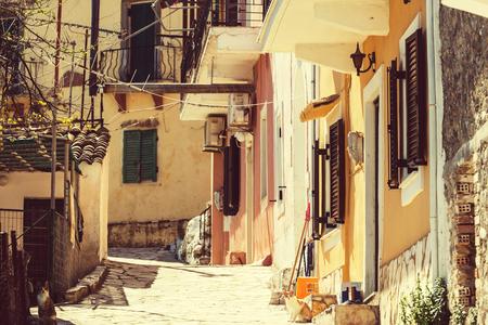 kerkyra: Corfu town in Greece