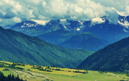 Caucasus mountains photo