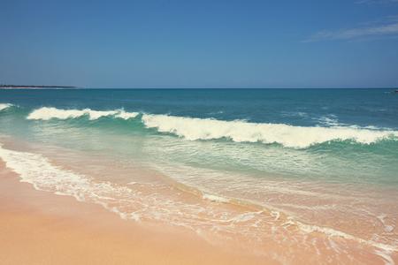 Sereniteit strand Stockfoto