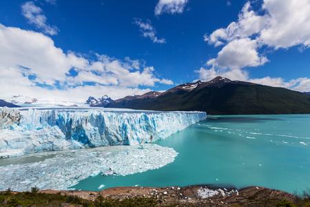Perito Moreno gletsjer in Argentinië Stockfoto