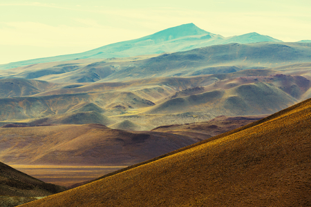 quiet scenery: Landscapes of Northern Argentina Stock Photo