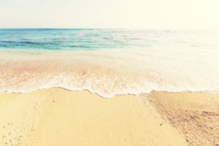 fade: Defocused.Summer  background  beach and ocean