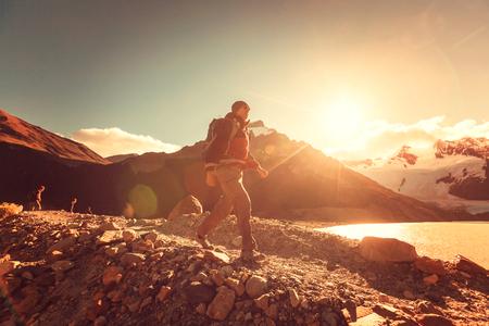 america del sur: Caminata en la Patagonia