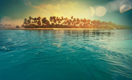 playas tropicales: Serenity playa tropical Foto de archivo