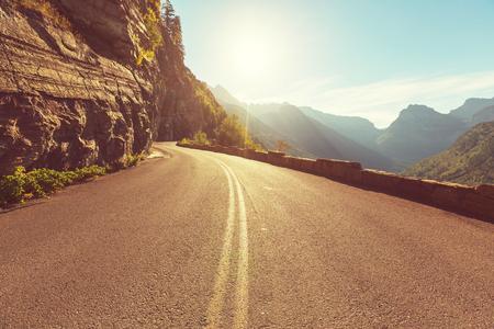 road in mountains Archivio Fotografico