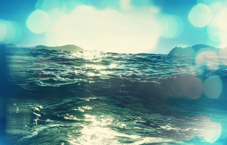 destinations: Wave on the beach